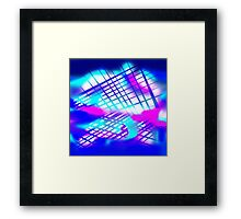 Abstract Escape Framed Print
