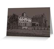 Harts Mill Complex Greeting Card