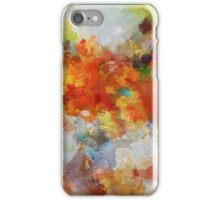 Colorful Abstract Landscape Painting iPhone Case/Skin