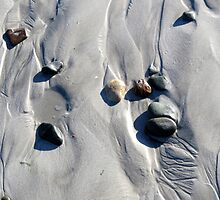 Pebbles and sand by Elizabeth Kendall