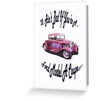 Birthday Gifts for a 30 yr. old; Ford Greeting Card