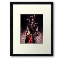 Regina Mills - Evil Queen Framed Print