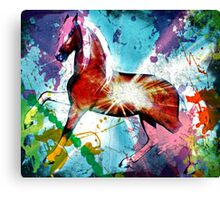Paint Dance Canvas Print