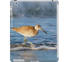 Willet in the Waves iPad Case/Skin