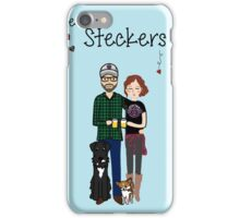 Custom Family Doodle iPhone Case/Skin