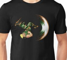 Guile Flash Kick Unisex T-Shirt