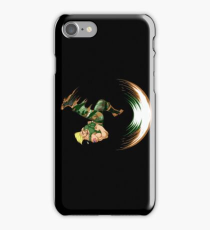 Guile Flash Kick iPhone Case/Skin