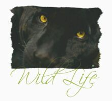 Wild Life Series - The Black Leopard Kids Tee