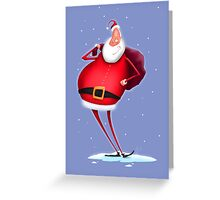 Jolly St. Nick Greeting Card