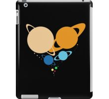 Solar System Heart (to scale) iPad Case/Skin
