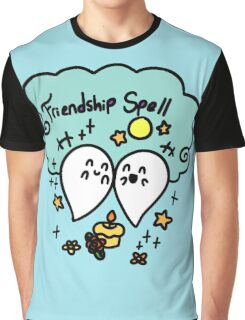Friendshp Spell Ghost Graphic T-Shirt