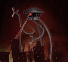 Alien Attack by Derek Stewart