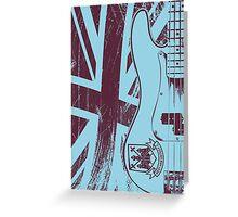 Precision Bass Guitar - Steve Harris Greeting Card