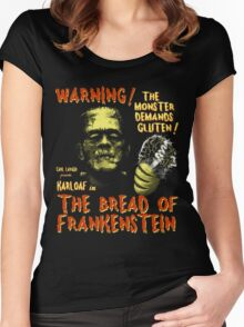 The Bread of Frankenstein Women's Fitted Scoop T-Shirt