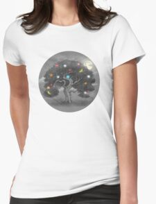 Midnight Snack Womens Fitted T-Shirt
