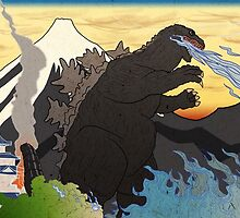 Godzilla - King of the Monsters by DrGraveRobber