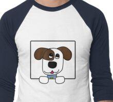 Dog T-Shirt Men's Baseball ¾ T-Shirt