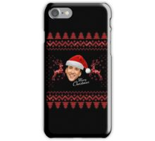 Merry Christmas Nic Cage iPhone Case/Skin