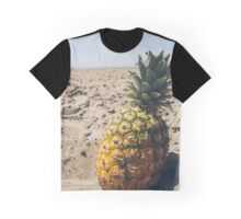 Pineapple on the beach Graphic T-Shirt