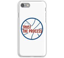 Trust the process iPhone Case/Skin