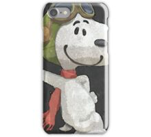 Snoopy aviador iPhone Case/Skin