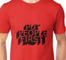 Put People First! Unisex T-Shirt