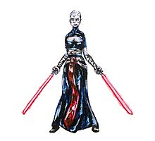 Asajj Ventress Photographic Print