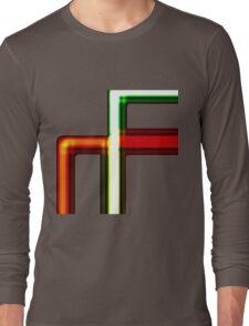 Tube Colors #5.1 No Back Ground Long Sleeve T-Shirt