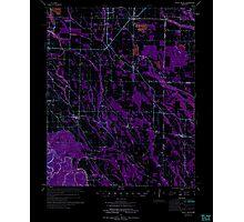 USGS TOPO Map Arkansas AR Holly Grove 260098 1974 62500 Inverted Photographic Print