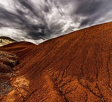Red Hills and Gray Skies by Richard Bozarth