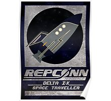 Fallout -  Repconn Space Traveller! Poster