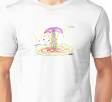 Soul Mates - New Age Fountain Magic Unisex T-Shirt