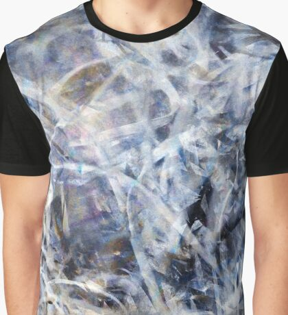 Abstract Expressionist Dance Square Graphic T-Shirt