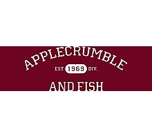 Applecrumble and Fish Photographic Print
