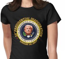 President Donald Trump Inauguration Day 1.20.17 Womens Fitted T-Shirt