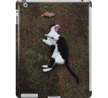 Yawning Cat or Raging Monster iPad Case/Skin