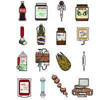 "Pixel ""Consumables""  Photographic Print"