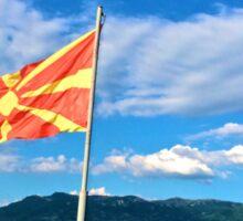 Fala Macedonia Sticker