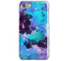 Violet Abstract Art iPhone Case/Skin