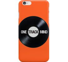 I've Got A One Track Mind iPhone Case/Skin