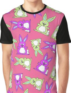 Bright Bunnies Graphic T-Shirt