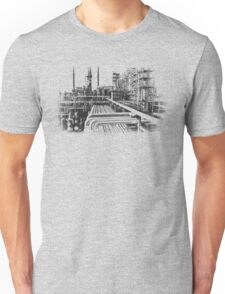 Old Refinery Industry Vintage Style T-Shirt Unisex T-Shirt