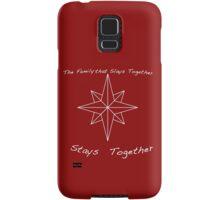 Every Family Needs a Motto (light) Samsung Galaxy Case/Skin