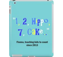 Adventure Time Fionna the human can't count iPad Case/Skin