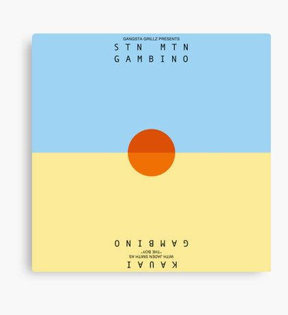 Stn Mtn Gambino Canvas Print