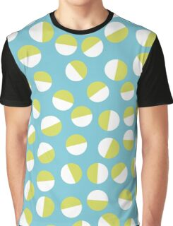 Half Semicircles Graphic T-Shirt