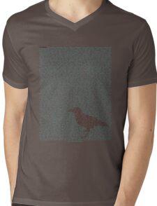 The Raven - Edgar Allen Poe Mens V-Neck T-Shirt
