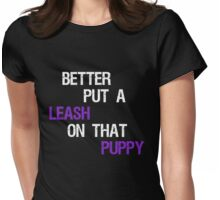 Piers Is A Puppy Womens Fitted T-Shirt
