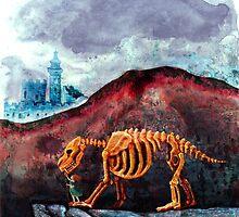 The Bone Beast of Blood Mountain by scrapophilia