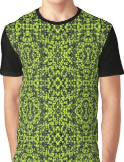 Green particles Graphic T-Shirt